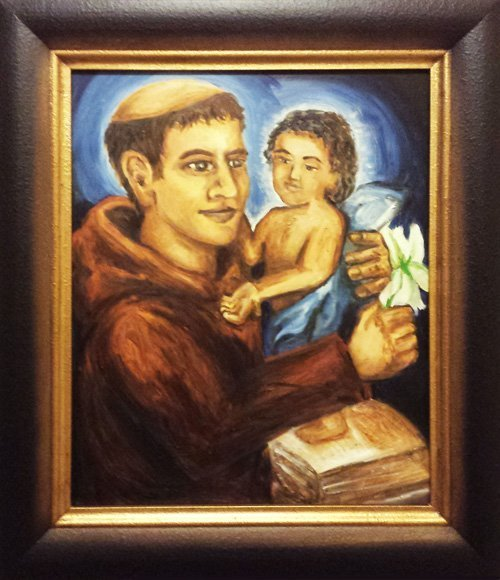 Saint Anthony Of Padua Painting Soulpainter