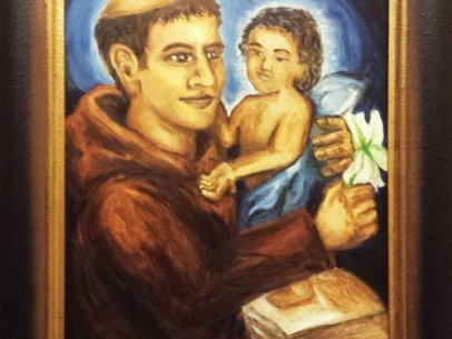 Saint Anthony of Padua [Painting]