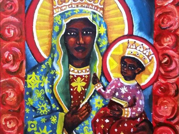 La Madonna Negra [Painting]