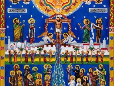 Sanctus Mural [Painting]