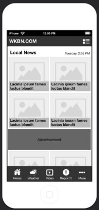 MoblieApp-CategoryGrid