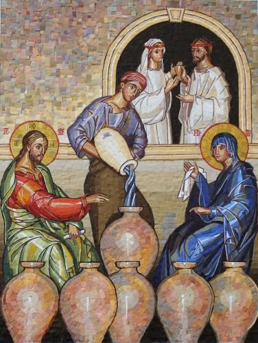 Wedding Mosaic - Artist Undetermined