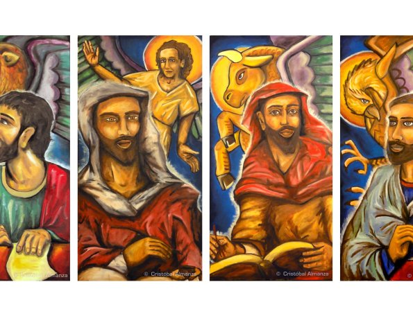 The Four Evangelist [Painting Series]