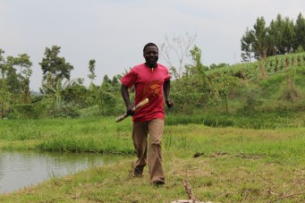 Muganda, one of his last days before leaving for Entebbe Institute of Fisheries