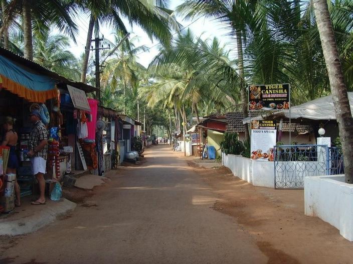 Goa, India, Agonda Beach