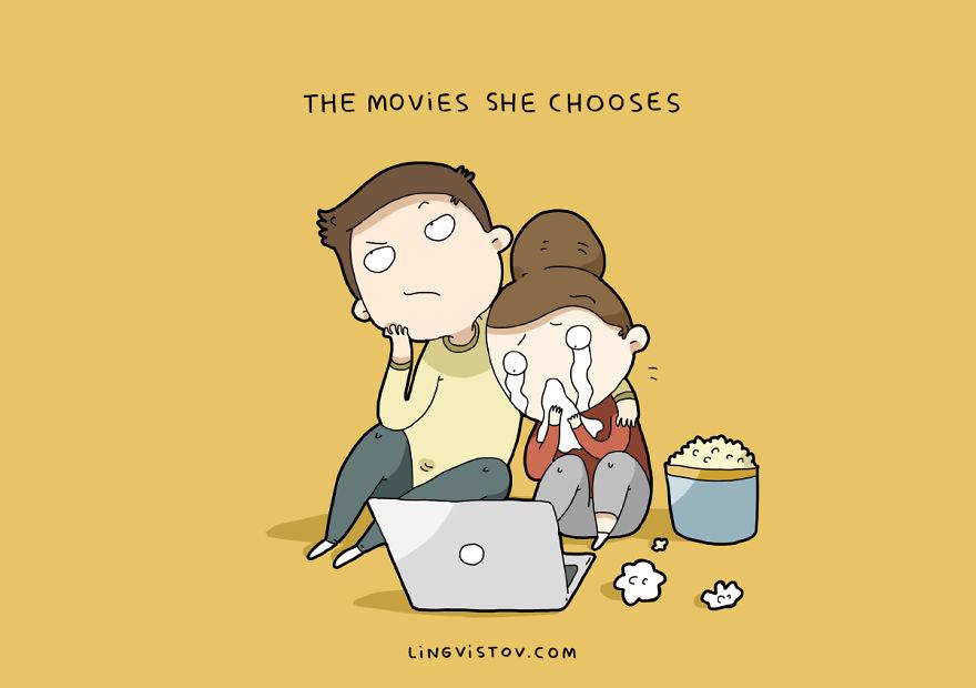 Фильмы, которые она выбирает