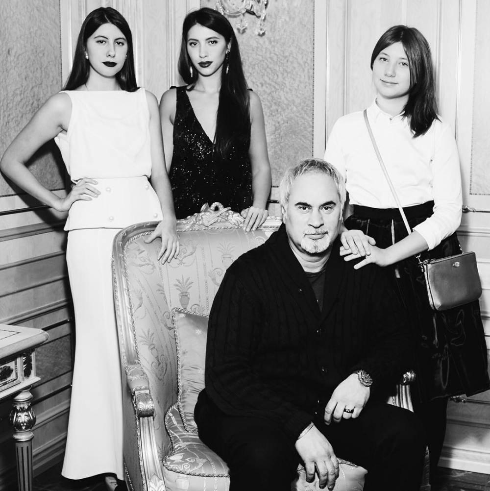 Меладзе с дочками