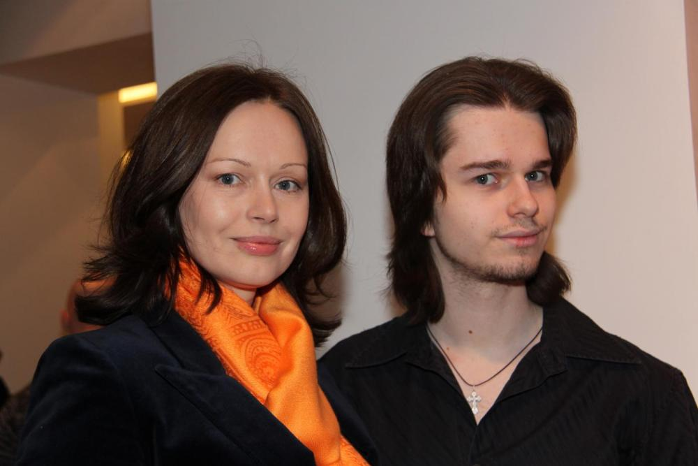 Ирина с сыном
