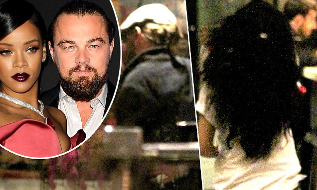 """UK CLIENTS MUST CREDIT: AKM-GSI ONLY EXCLUSIVE: West Hollywood, CA - Leonardo DiCaprio and Rihanna hang out together at """"Kings of Leon"""" frontman Caleb Followill's star-studded birthday party celebrated at """"Sunset Marquis"""" hotel in West Hollywood.  Leo's friends Kevin Connolly and Lukas Haas were there too.  NO Australia, New Zealand Pictured: Leonardo DiCaprio, Rihanna, Lukas Haas and Kevin Connolly Ref: SPL928446 140115 EXCLUSIVE Picture by: AKM-GSI / Splash News"""