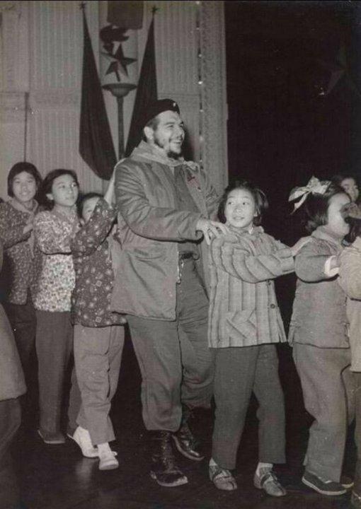 Че Гевара в детском саду в Шанхае, 1960 г.