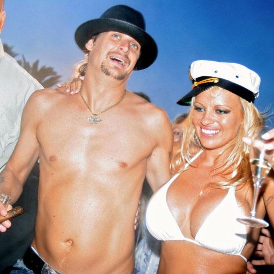 Памела Андресон и Кид Рок в июле 2006