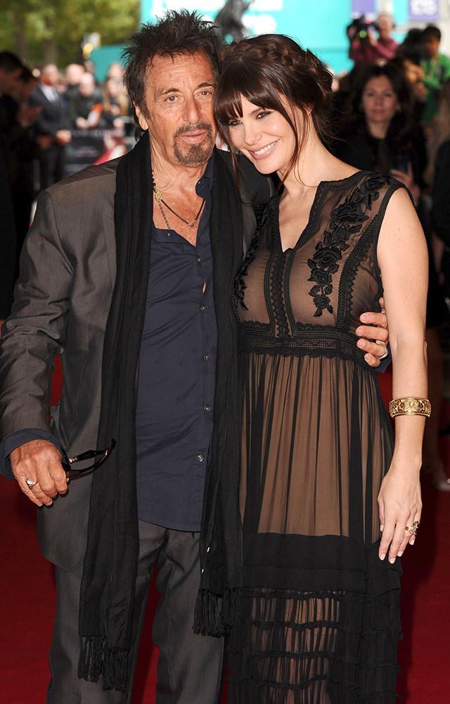 Аль Пачино и Лючила Сола. Разница в возрасте — 39 лет