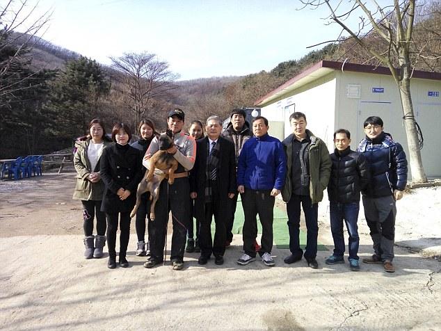 Team in Seoul- Professor Hwang, Semyon Grigoryev