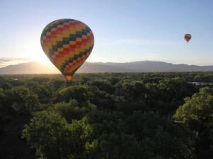 Международный Фестиваль воздушных шаров  в Рио-Гранде