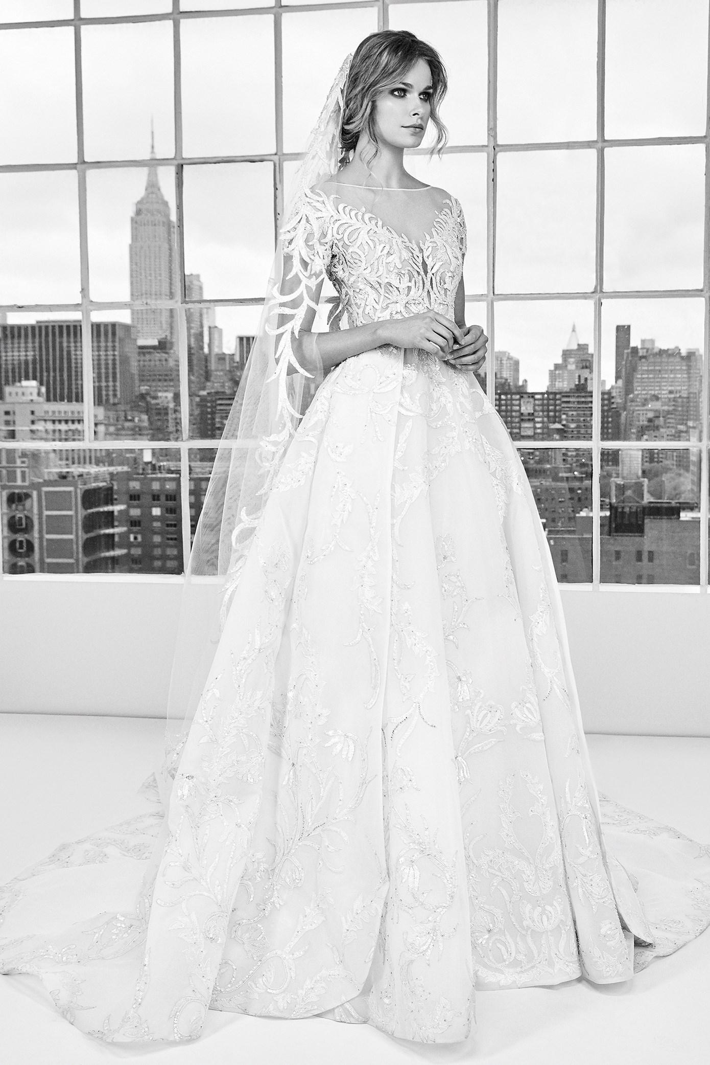 6c01ea353b6 Авторы самых шикарных свадебных платьев Эли Сааб и Зухаир Мурад ...