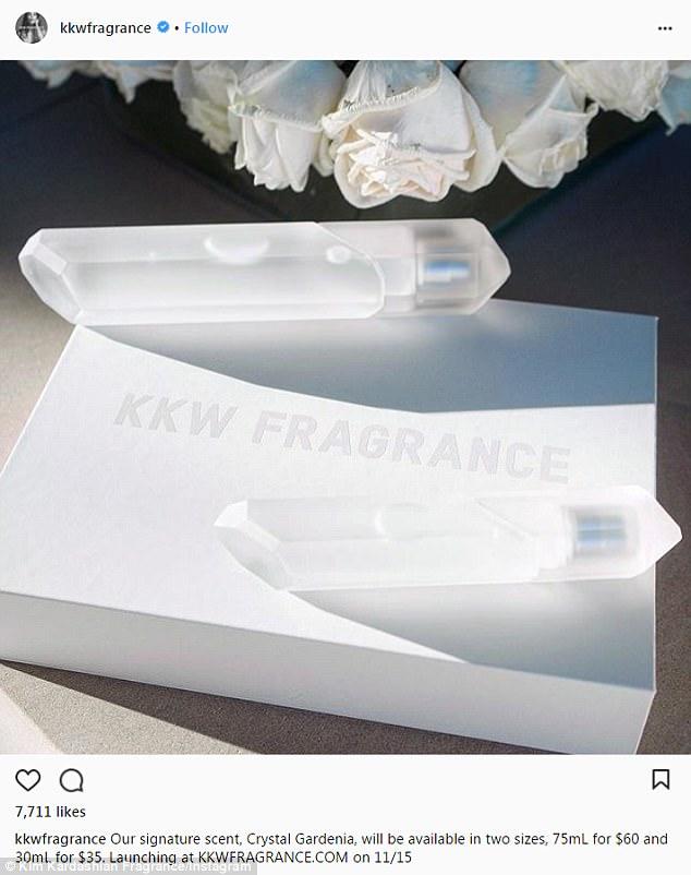 Первый аромат от Ким Кардашьян принес ей $10 млн за сутки