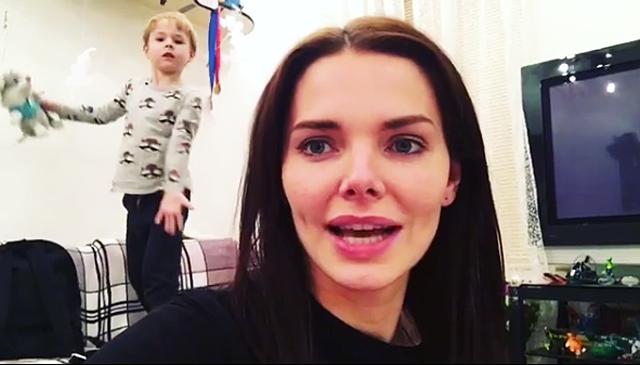 Лиза Боярская впервые показала лицо сына — фото