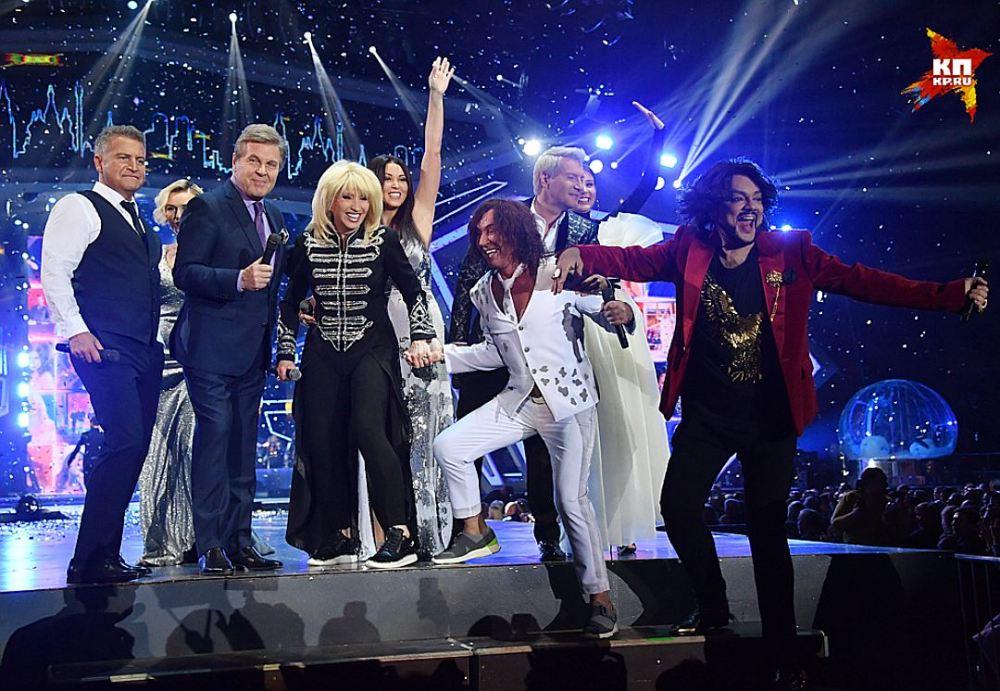 В Москве прошла уже 46-я «Песня года» — фото