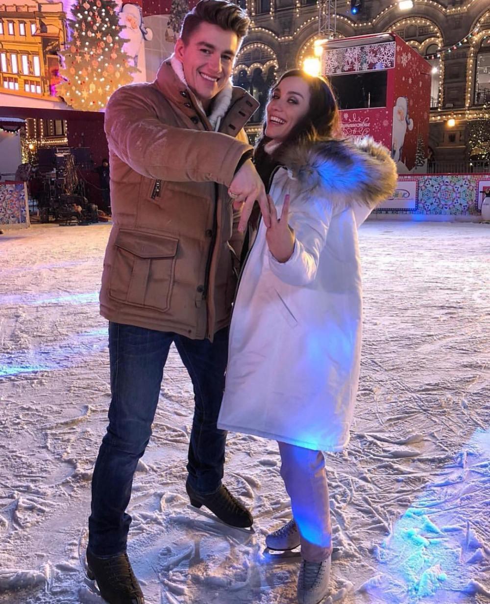 Виктория Дайнеко и Алексей Воробьев провели праздники вместе — фото
