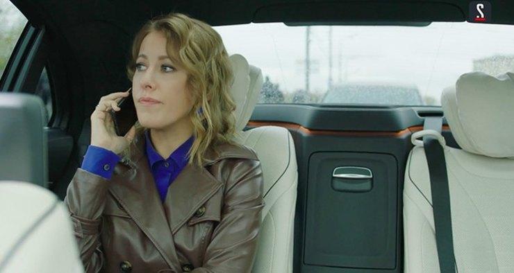 Собчак снялась в сериале Богомолова вместе с его бывшей женой