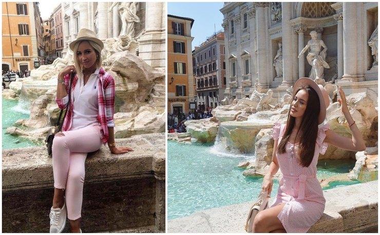 В путешествии по Италии Тарасов делает с Костенко такие же фото, как когда-то с Бузовой