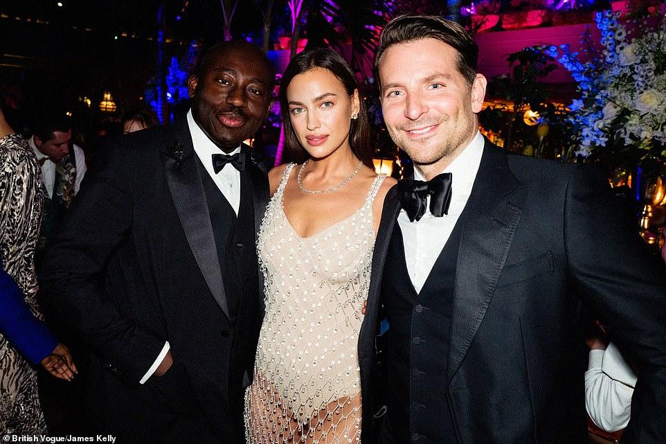 Ирина Шейк и Брэдли Купер встретились на вечеринке BAFTA — фото