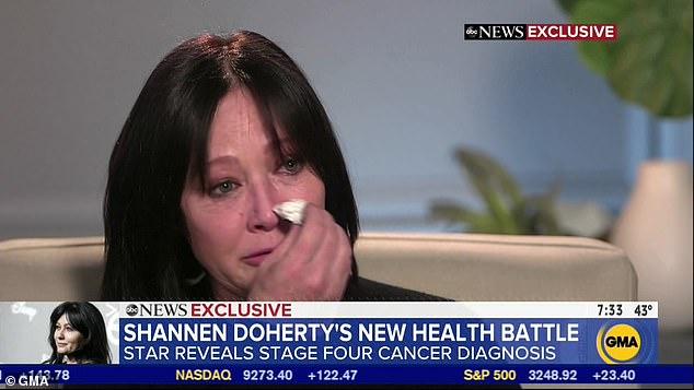 Шеннен Доэрти диагностировали агрессивный рак 4 стадии