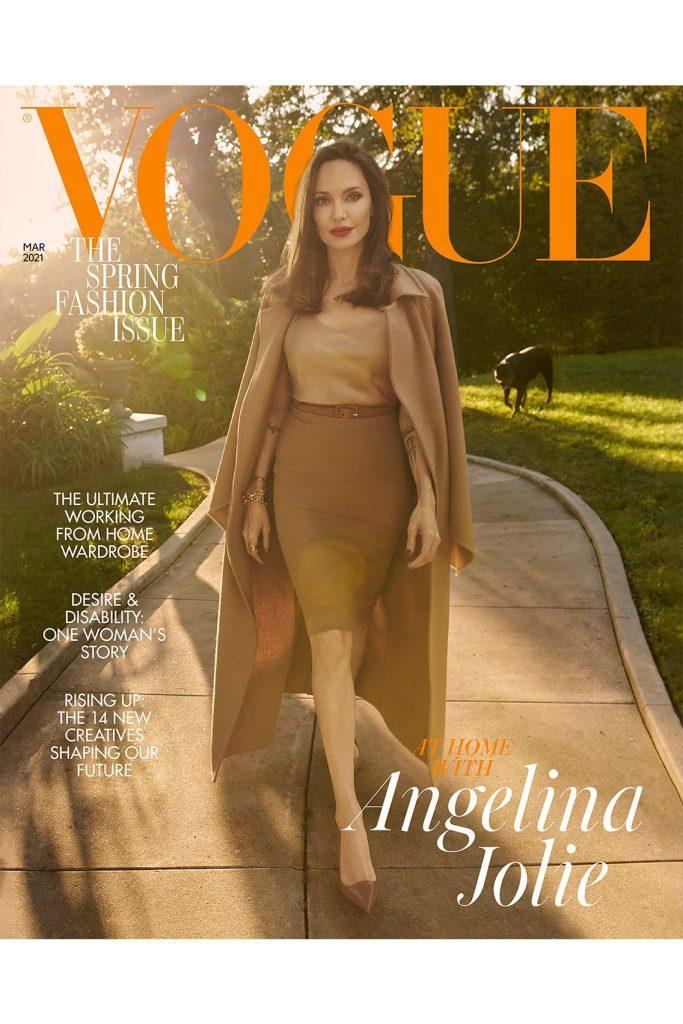 Анджелина Джоли снялась для Vogue: «С нетерпением жду 50-летия»