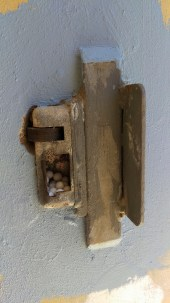 New life in a door latch