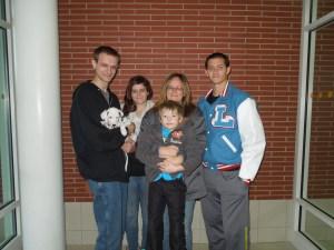 Marsten's new family.