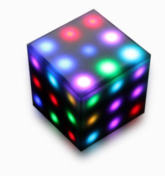 3D cube 3rd dimension