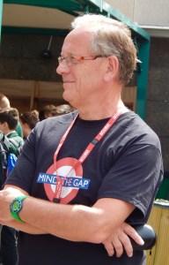 MTG volunteer Nigel