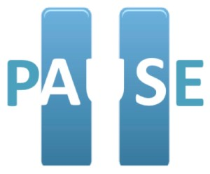 new pause logo