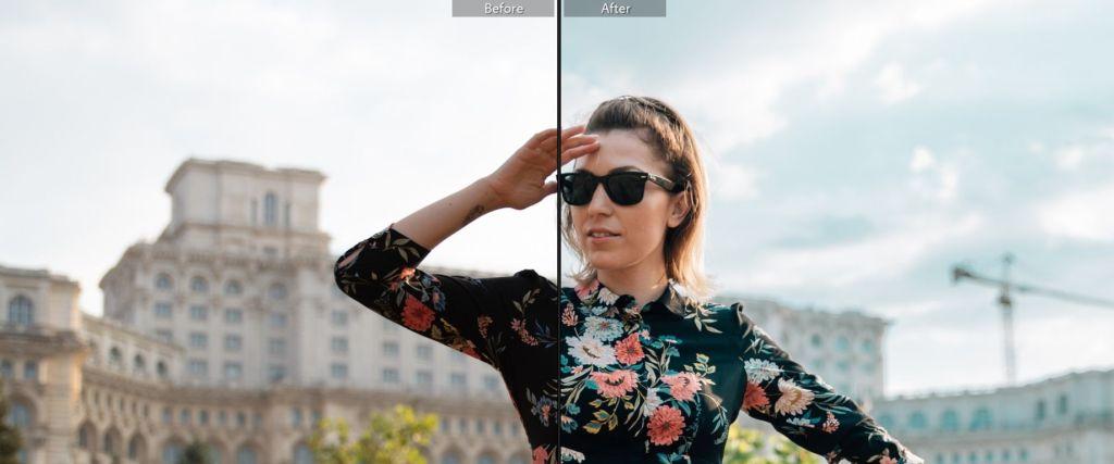 Presets Lightroom Gratuite Before and After Poze 1