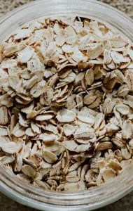 close up of oats