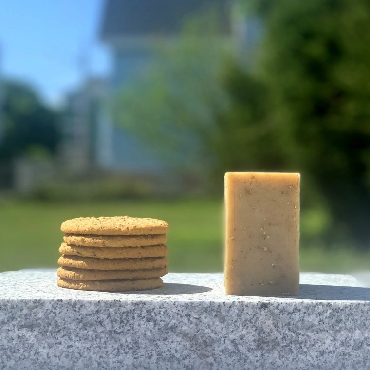 Oatmeal Cookie Organic Face and Body Bar