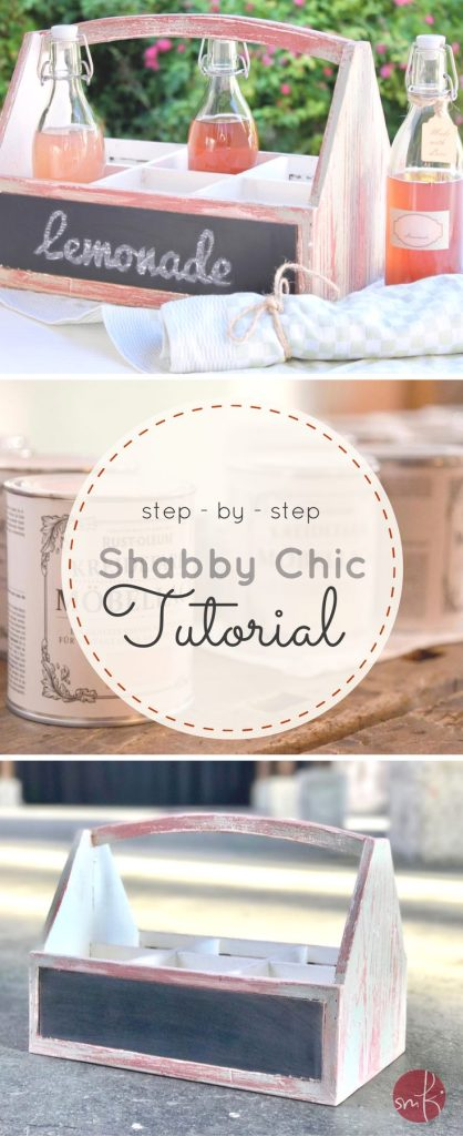 Shabby Chic selbstgemacht: das step-by-step DIY Tutorial