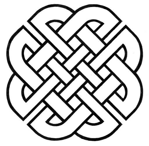 shield celtic knot