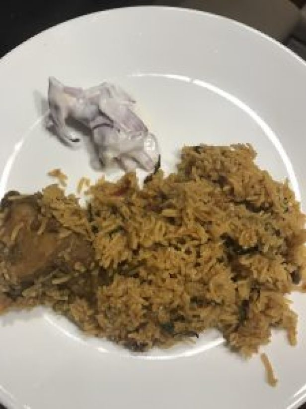 pressure cooker mutton biriyani