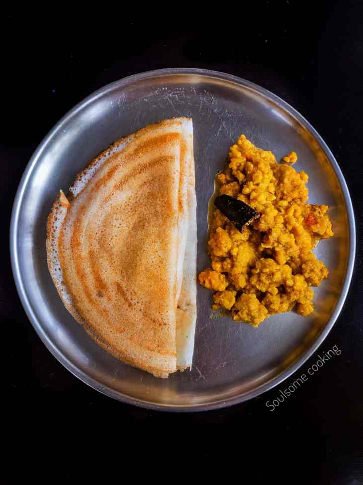 dosai side dish vadacurry