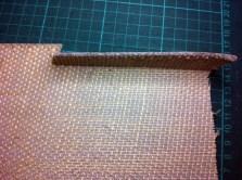 Cutting back edges of linoblock 3