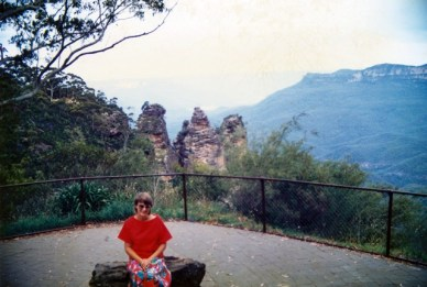 Blue Mountains Honeymoon 1987