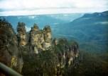 Blue Mountains Views 1986 - Three Sisters