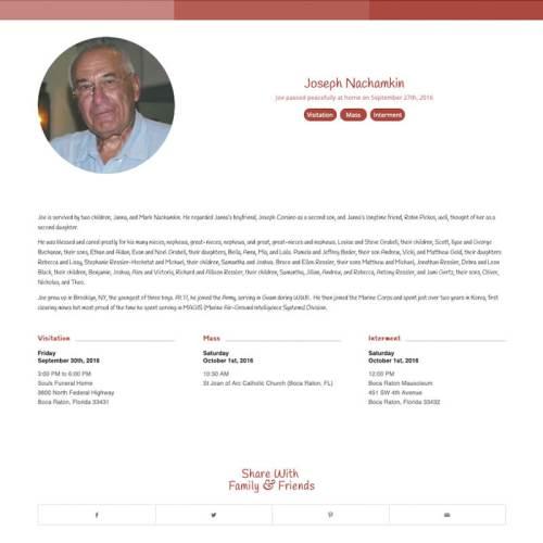 Basic Obituary Paprika