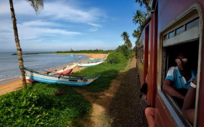 Train Travel in Sri Lanka: Beaches, Jungle and Tea Country.