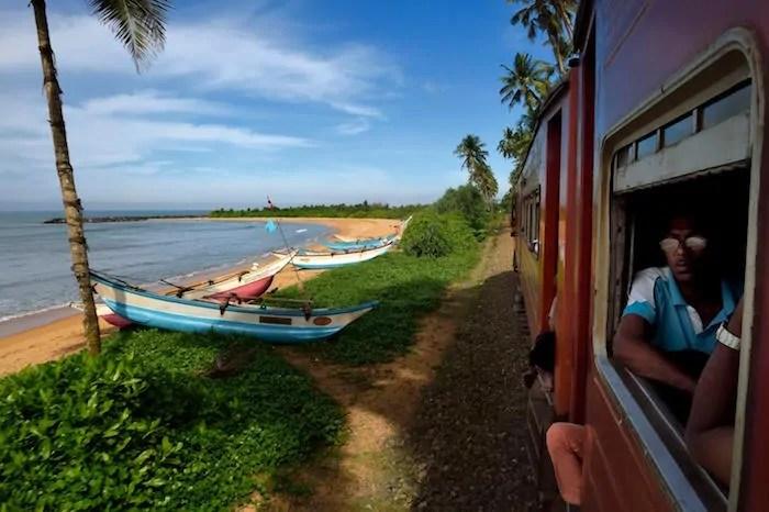 Train Travel in Sri Lanka: Beaches, Jungle and Tea Country.