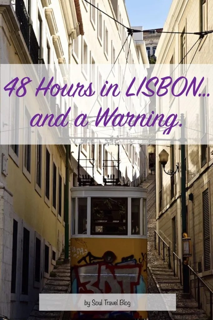 responsible travel in Lisbon.