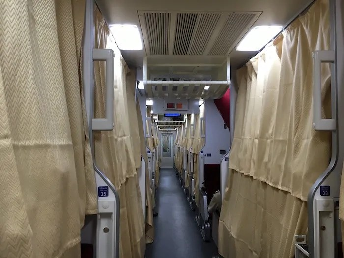 Chiang Mai to Bangkok by Train.