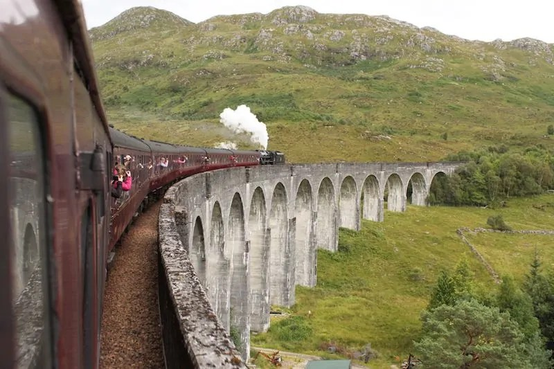 scenic train trips from around the world!
