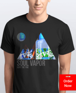 Mountain Men Black | Soul Vapor Apparel